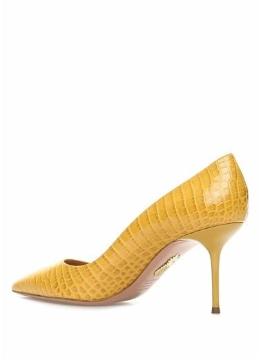 Aquazzura Ayakkabı Hardal